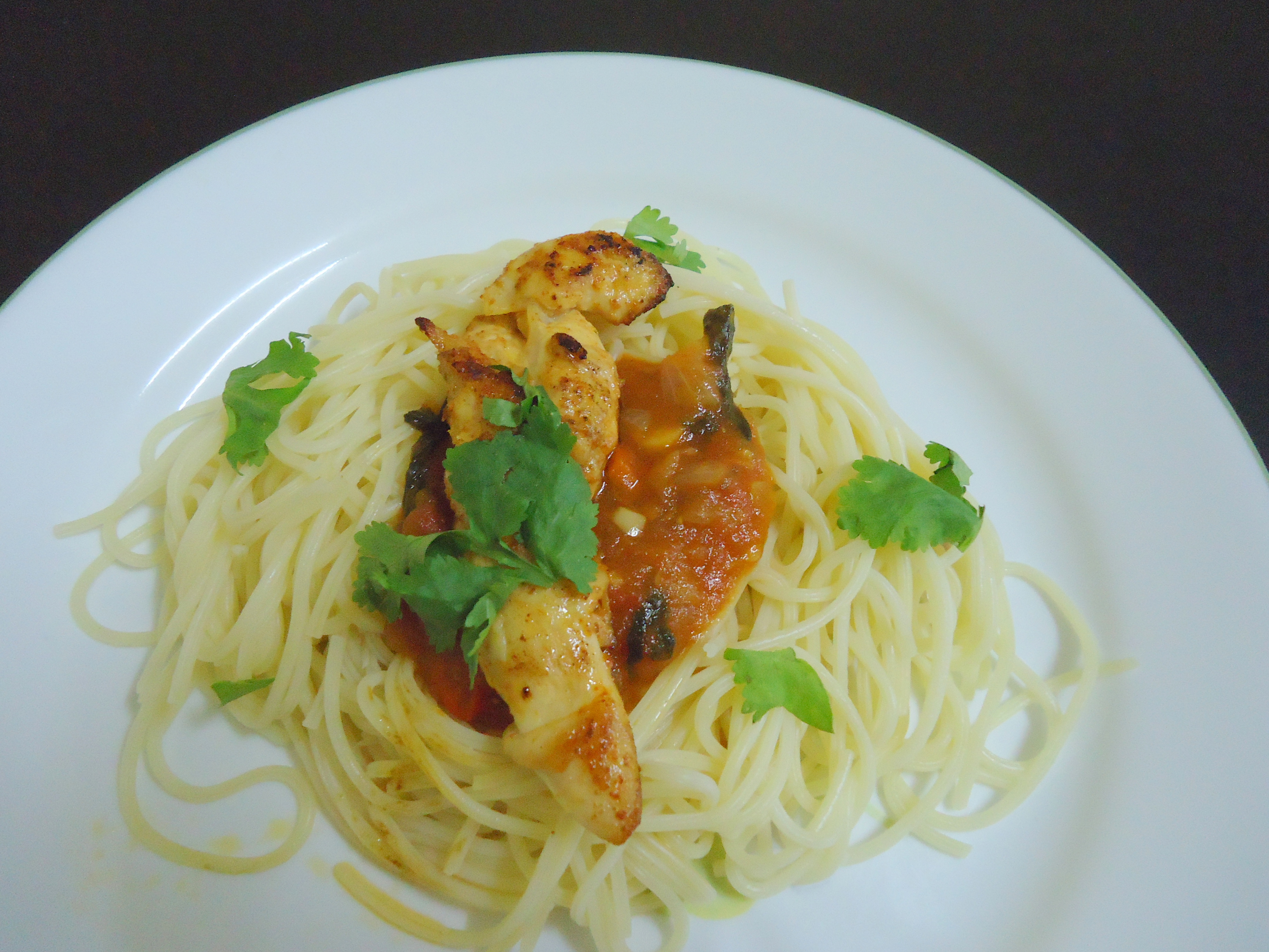 ... Italy With Love: Smoked Paprika Chicken with Roasted Tomato Spaghetti