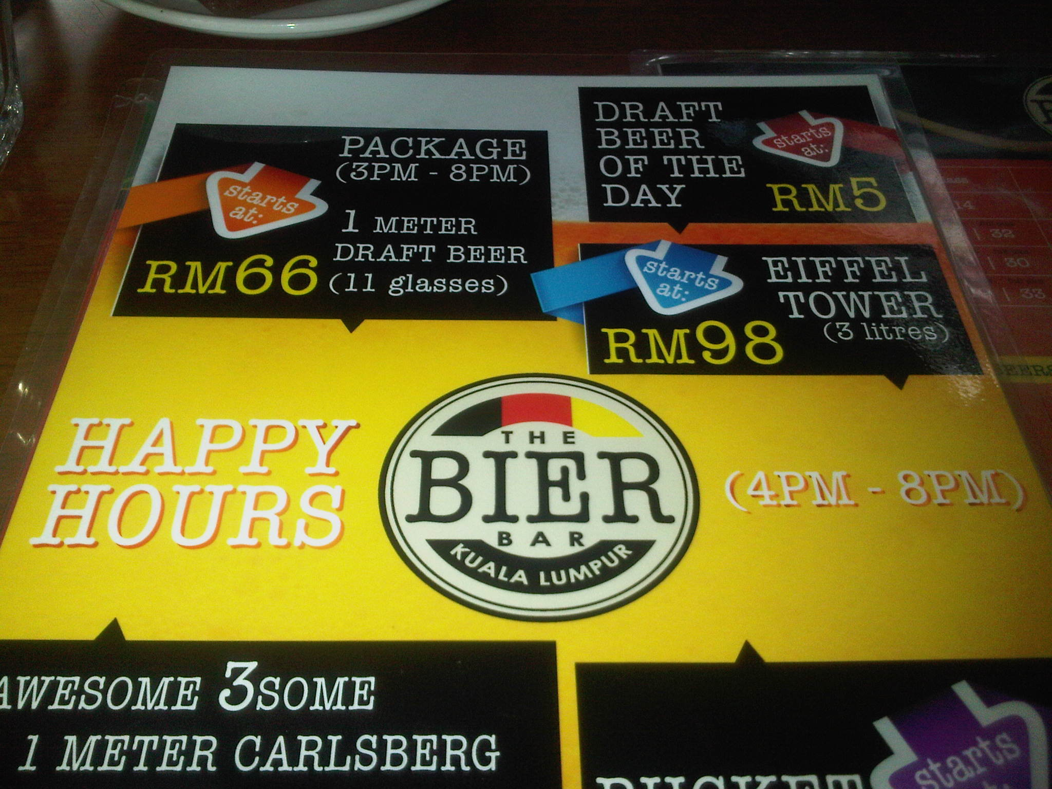 Kuala Lumpur Going Out Guide Happy Hours Around The City