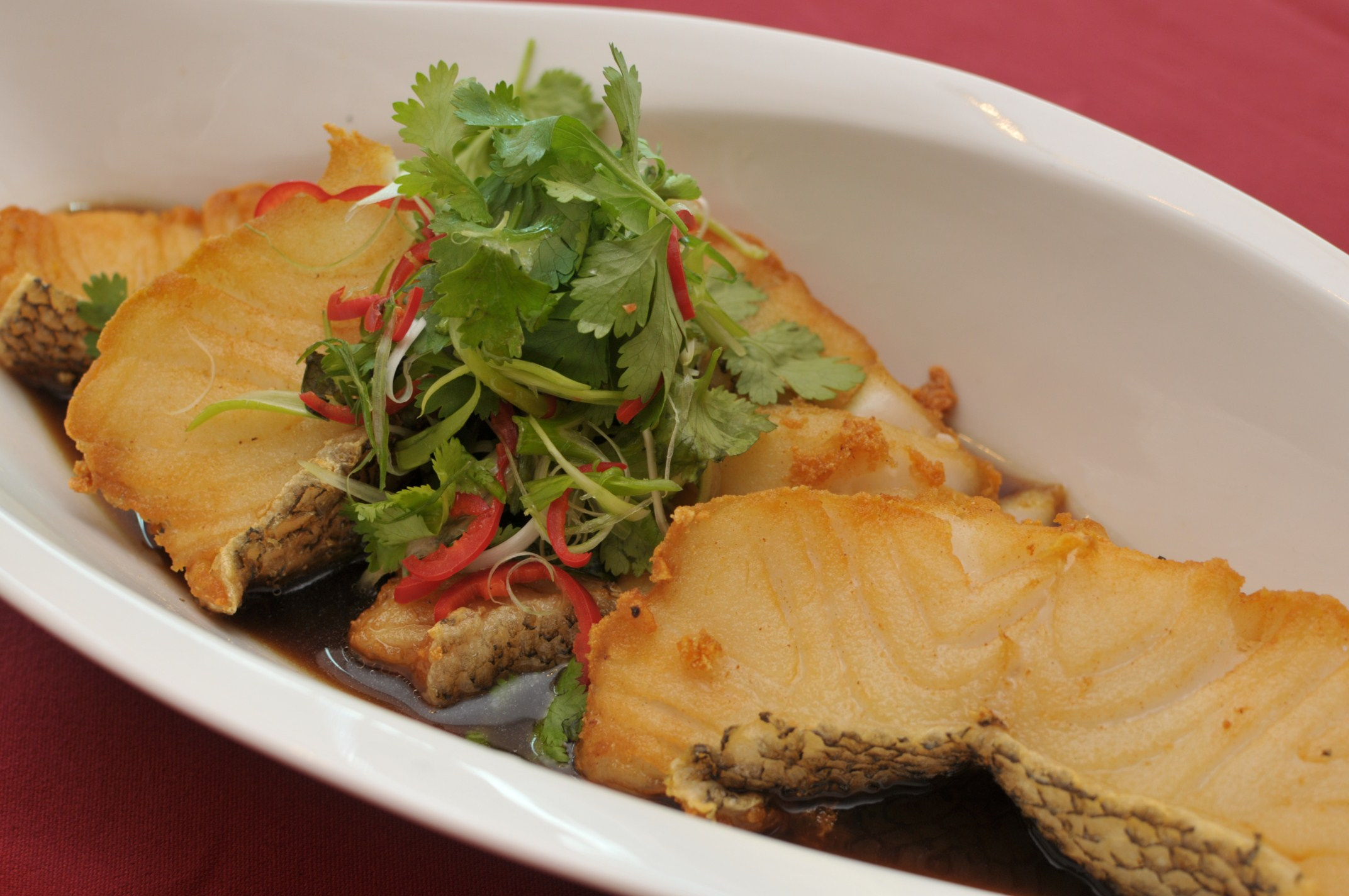 Guest post series part 3 enter the dragon food to for Fried cod fish recipes