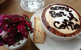 Cappuccino at Breakfast Menu at Acme Bar and Coffee