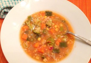 Souper #SundaySupper: Vegetable Medley Soup with Broccoli and Leeks